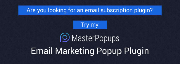 Popup Plugin for WordPress - Popup Press - Popups Slider & Lightbox - 1