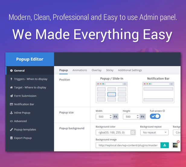 Popup Plugin for WordPress - Master Popups for Email Subscription 15