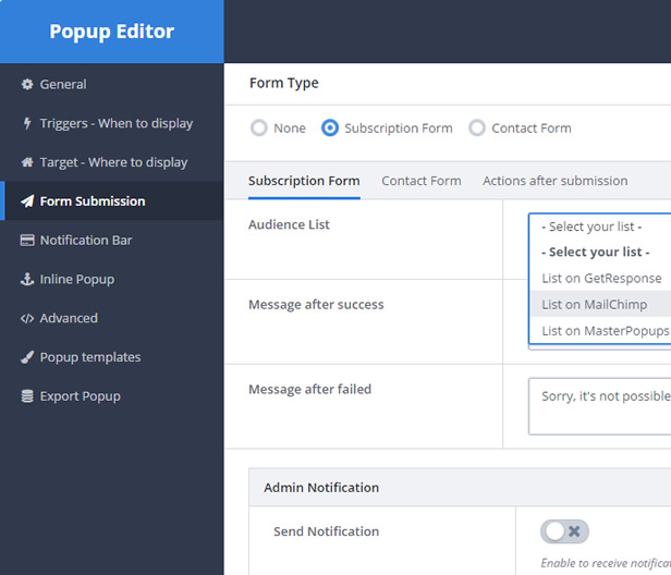 Popup Plugin for WordPress - Master Popups for Email Subscription 26